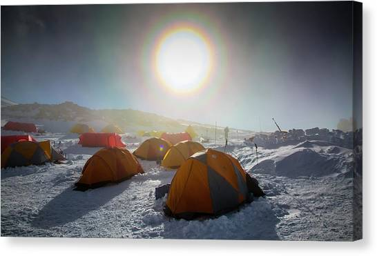 High Camp Canvas Print by Peter J. Raymond