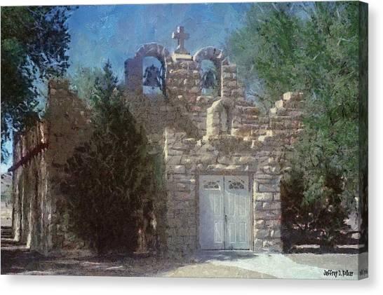 High Desert Church Canvas Print