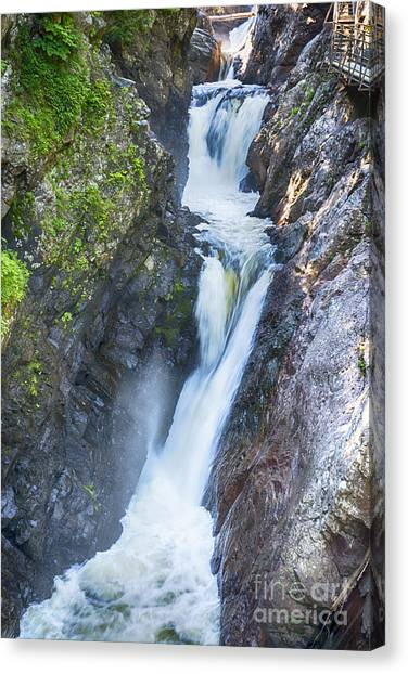 High Falls Gorge Canvas Print