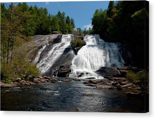 High Falls North Carolina Canvas Print