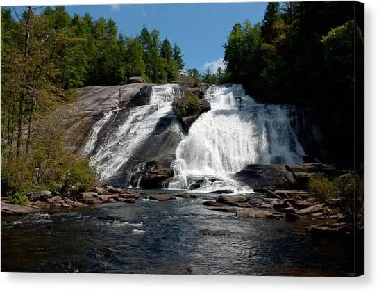High Falls North Carolina Canvas Print