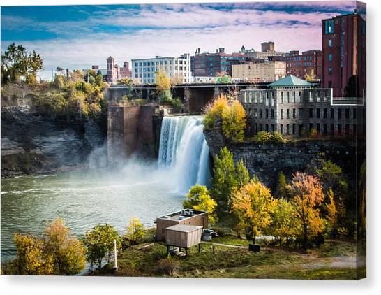 High Falls Rochester Canvas Print