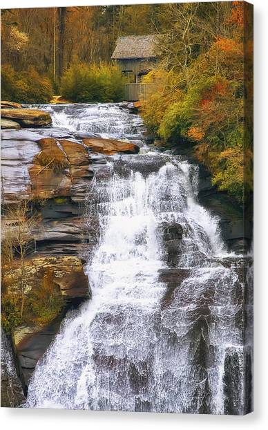 Waterfalls Canvas Print - High Falls by Scott Norris