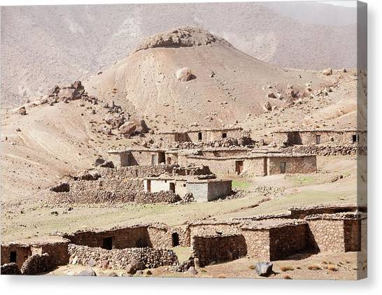 Moroccon Canvas Print - High Grazing Land by Ashley Cooper