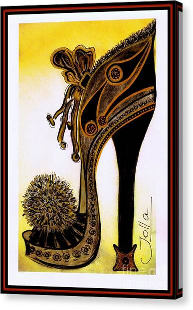 High Heel Heaven Canvas Print