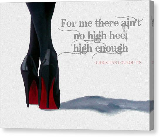 Oil Canvas Print - High Heels by My Inspiration
