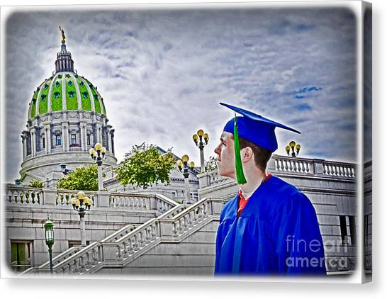 Bachelors Degree Canvas Print - High Hopes by Gary Keesler