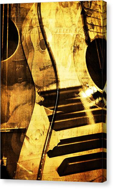 High On Music Canvas Print