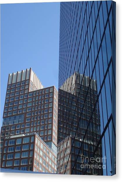 High Rise Reflection Canvas Print