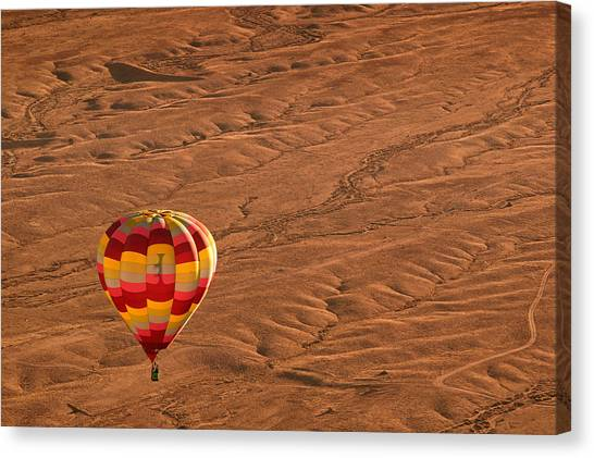 Hot Air Balloons Canvas Print - High Road by Keith Berr