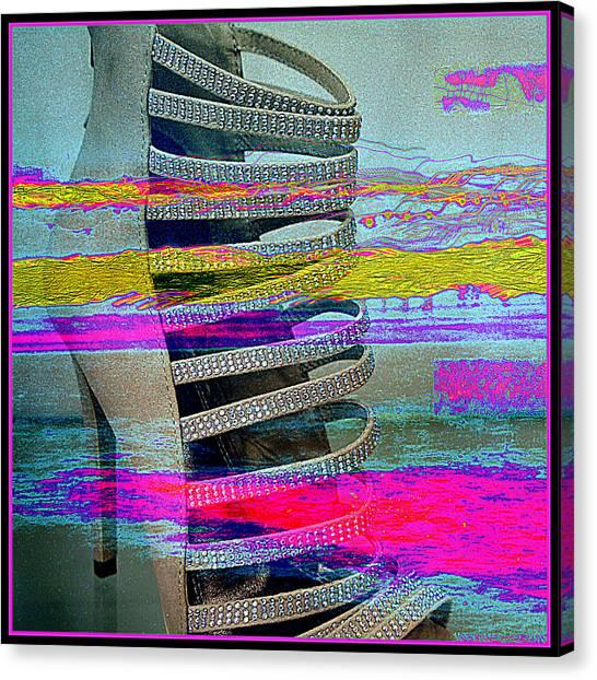 High Stepping Canvas Print