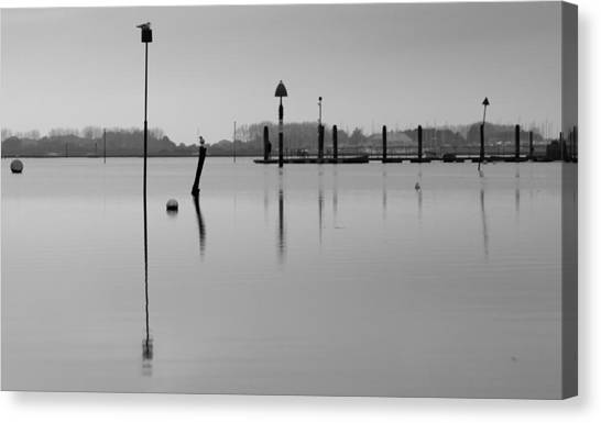 High Tide Ripples Canvas Print