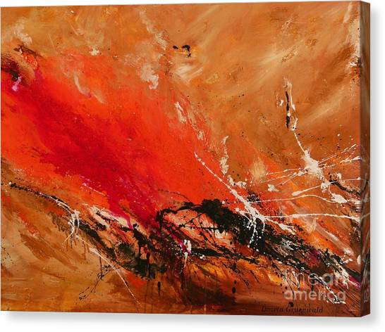 High Time - Abstract Art Canvas Print
