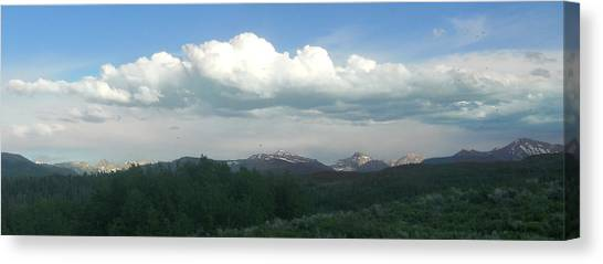 Canvas Print - High Uintas In June by Terry Pelch