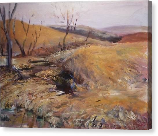 High Water Hiatus Canvas Print