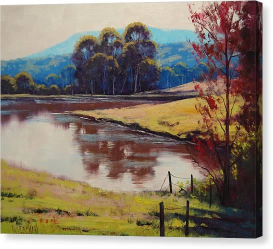 Homestead Canvas Print - Highland Dam by Graham Gercken