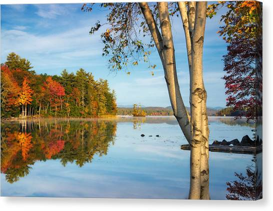 Highland Lake Canvas Print