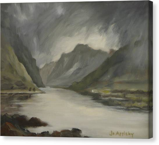 Highland Storm Canvas Print