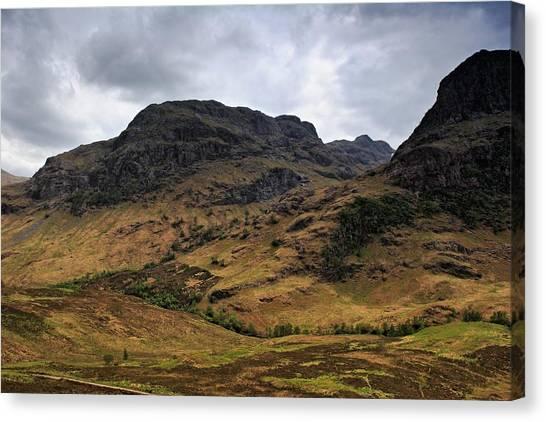 Highland View Canvas Print