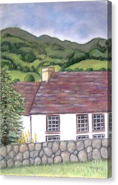 Highland Farmhouse Canvas Print