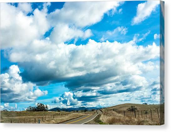 Highway 132 Canvas Print by John Crowe