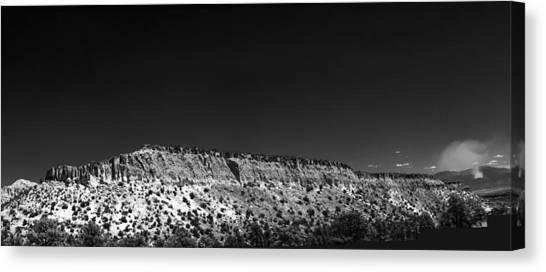 Highway 502 To Los Alamos Nm Canvas Print