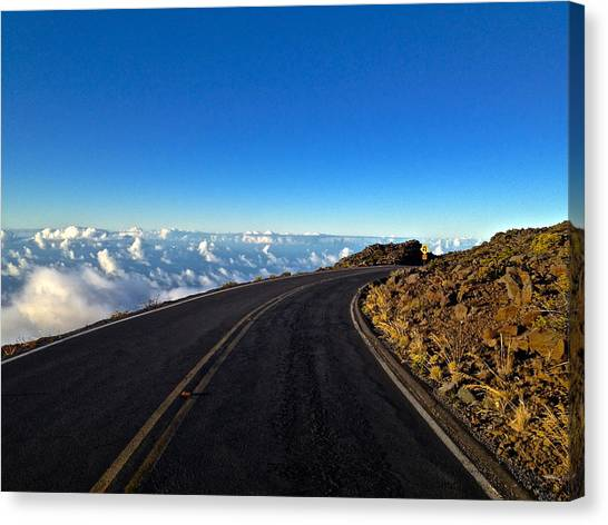 Highway To Heaven Canvas Print by Bryan Hurlbut
