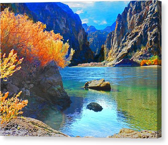 Hikers Haven Two Canvas Print
