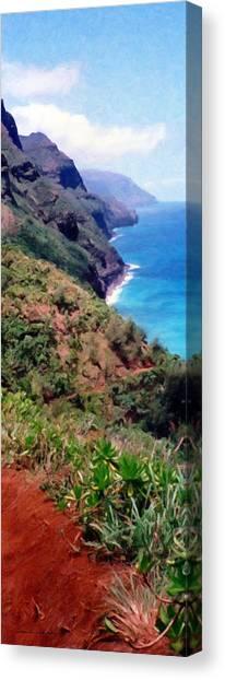 Trail To Kalalau Canvas Print