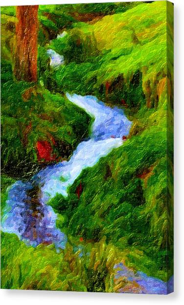 Hill And Rill Canvas Print