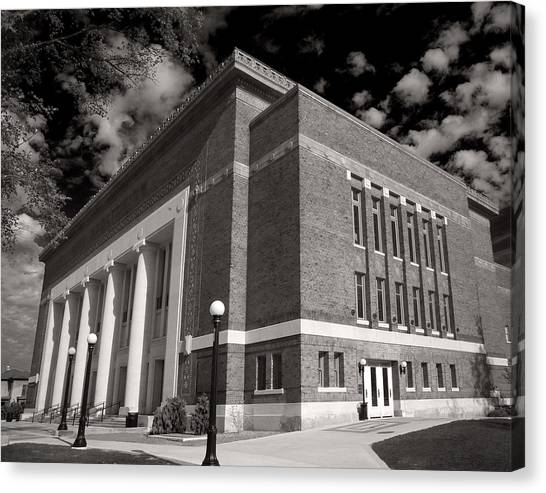 Hill Auditorium Canvas Print