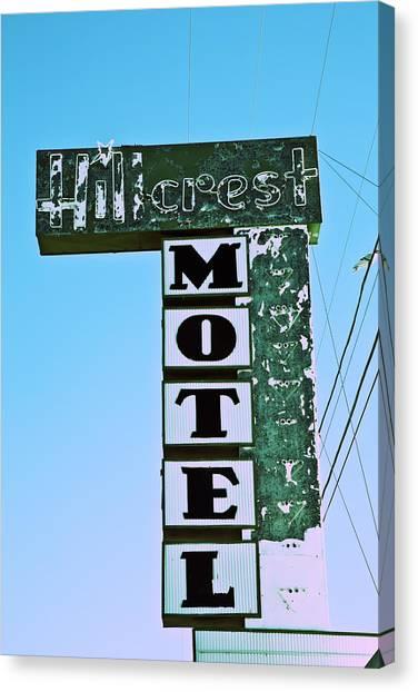 Hillcrest Motel Canvas Print