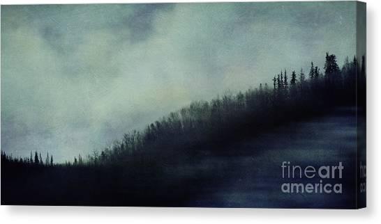 Treeline Canvas Print - Hillcrest by Priska Wettstein