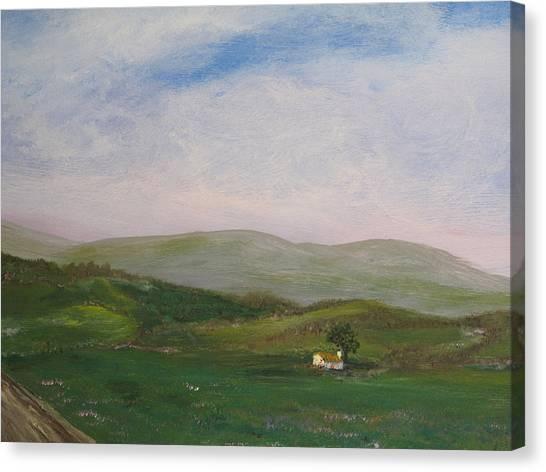 Hills Of Ireland Canvas Print