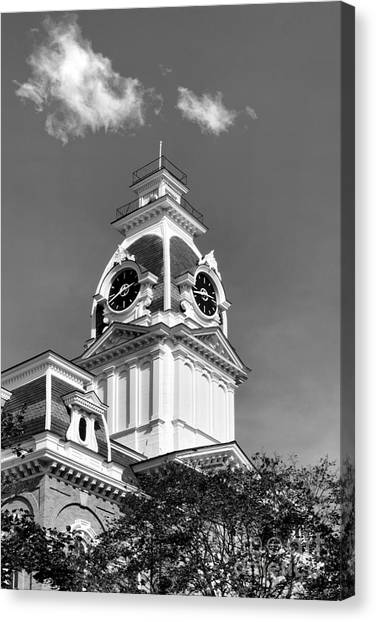 Central Michigan University Canvas Print - Hillsdale College Central Hall Cupola by University Icons