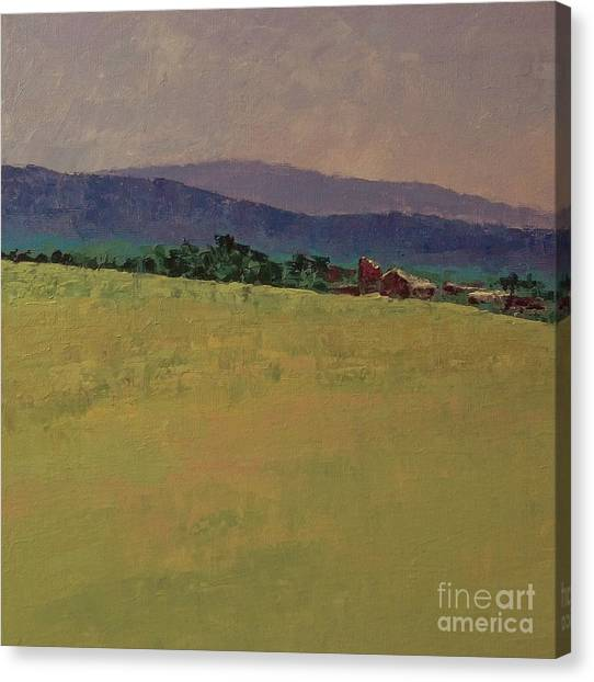 Hilltop Farm Canvas Print