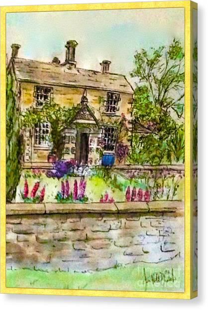Hilltop Farm Canvas Print