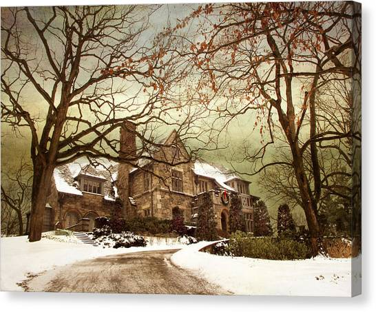 Driveway Canvas Print - Hilltop Holiday Home by Jessica Jenney