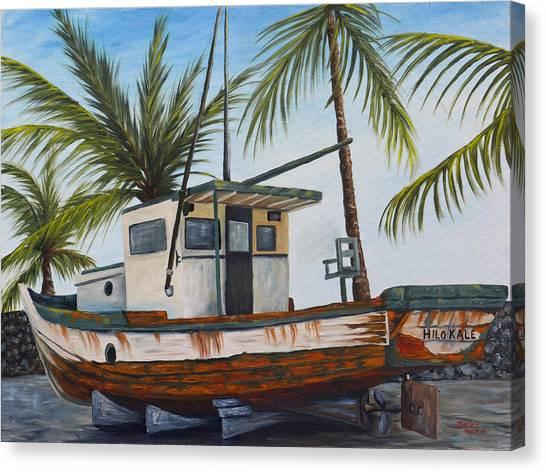 Hilo Kale Canvas Print