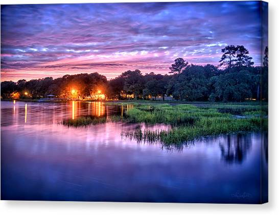 Hilton Head Evening Marsh Canvas Print