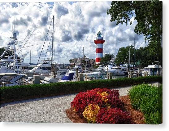 Hilton Head Lighthouse Canvas Print