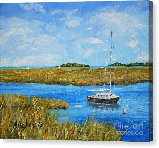 Hilton Head Mooring Canvas Print