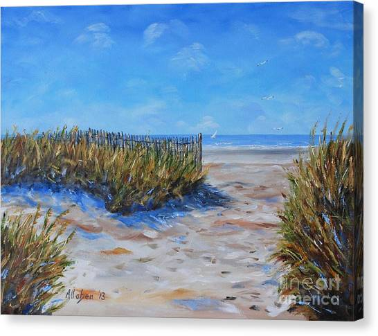 Hilton Head North End Canvas Print