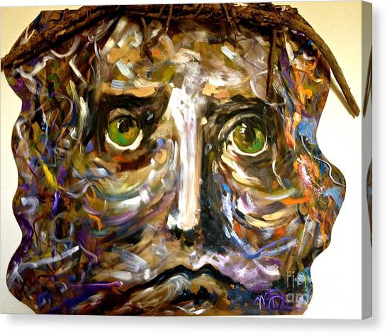 Him Canvas Print by Michelle Dommer