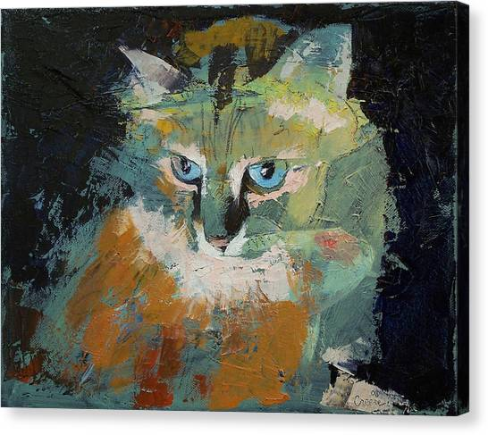 Himalayan Cats Canvas Print - Himalayan Cat by Michael Creese