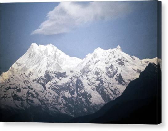 Kangchenjunga Canvas Print - Himalayas Kangchenjunga by Granger