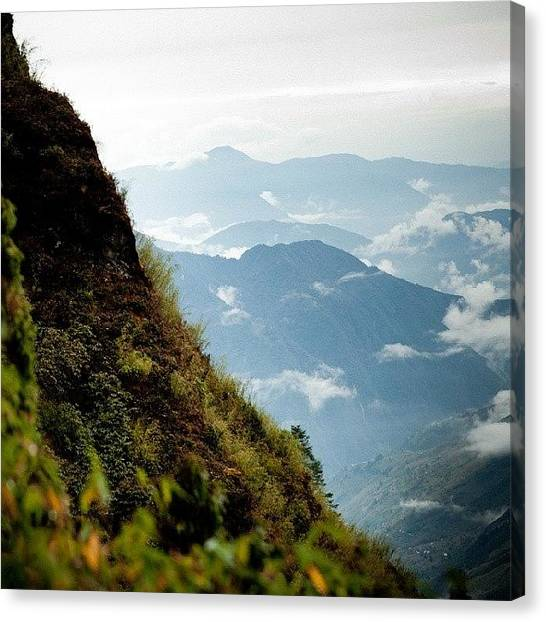 Sunset Horizon Canvas Print - Himalayas Mountain by Raimond Klavins
