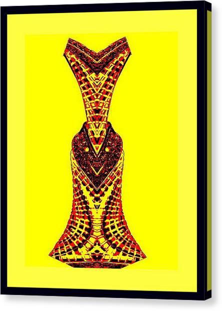 Hippy Dress Canvas Print