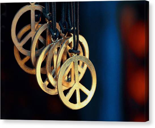 Artisan Jewelry Canvas Print - Hippy's Dream by Mike Flynn