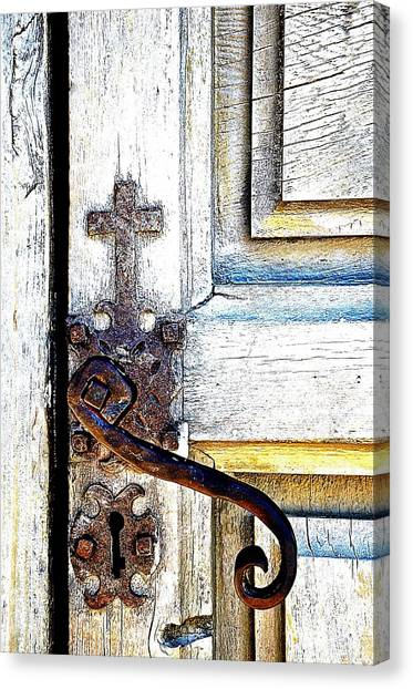 His Door Canvas Print